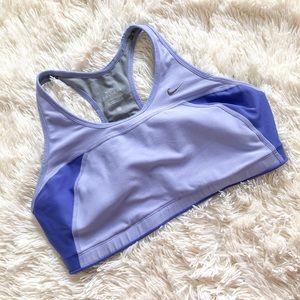 Nike Purple Dri Fit Sports Bra